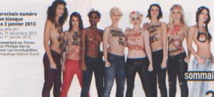 Femen dans les Inrock