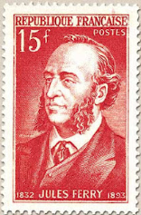 Timbre Jules Ferry