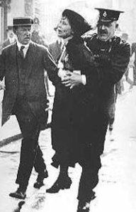 Interpellation d'Emmeline Pankhurst