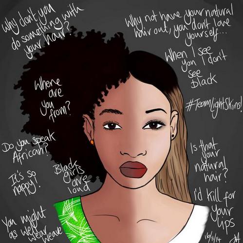 ce qu'entend une femme noire