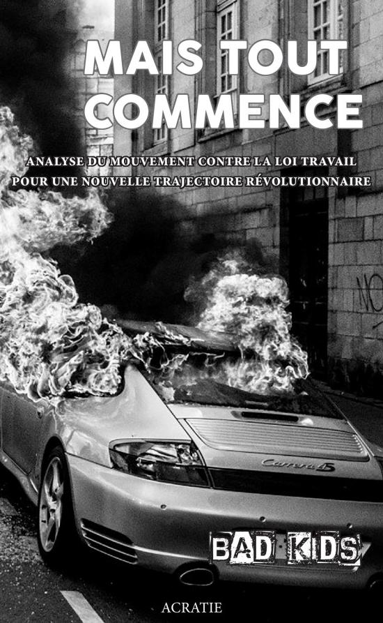 """""""Mais tout commence"""", un livre stimulant aux éditions Acratie dans - LITTERATURE - POESIE - TEXTE - BD"""